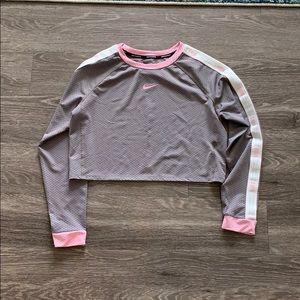 Nike mesh crop